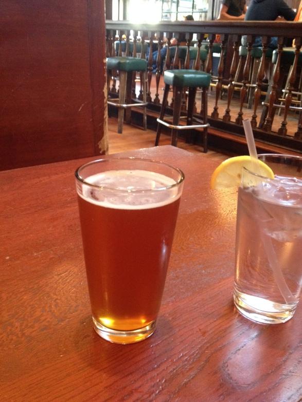 Beer break at Triple Rock