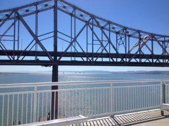 Cycling across the new Bay Bridge