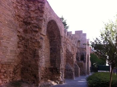 Roman wall remnants