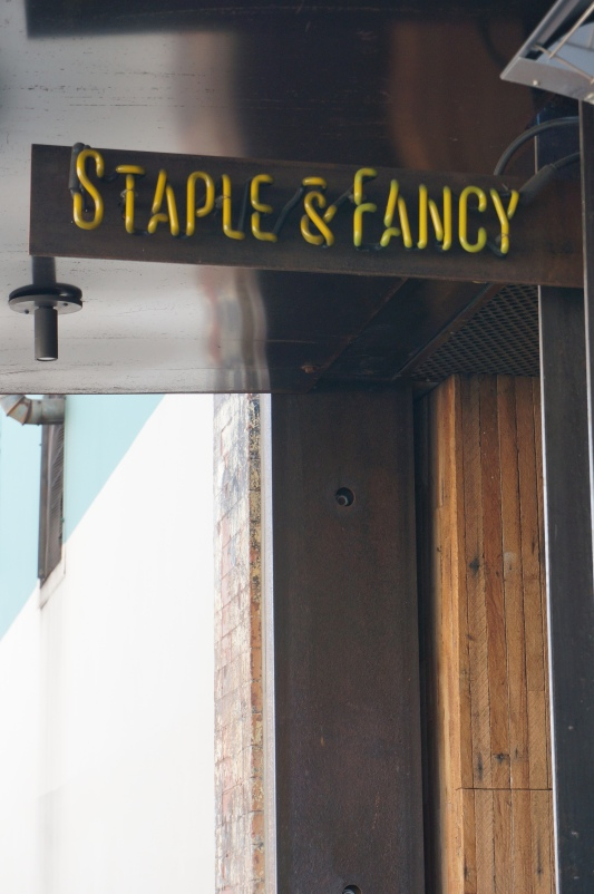 Staple and Fancy, one of the many fine places to eat on Ballard Avenue