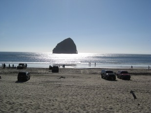 Haystack Rock, Pacific City