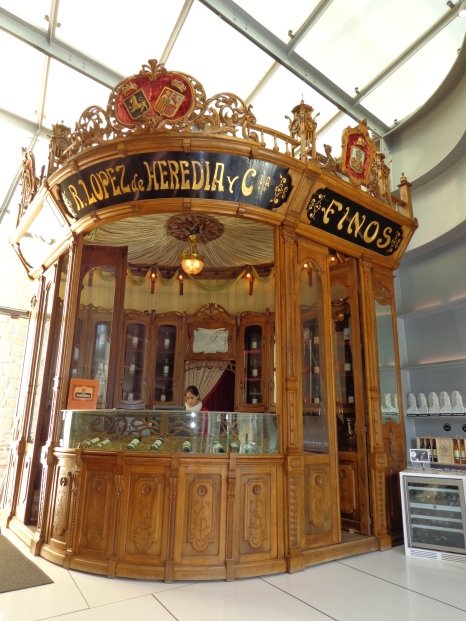 Vintage Kiosk at Lopez de Heredia