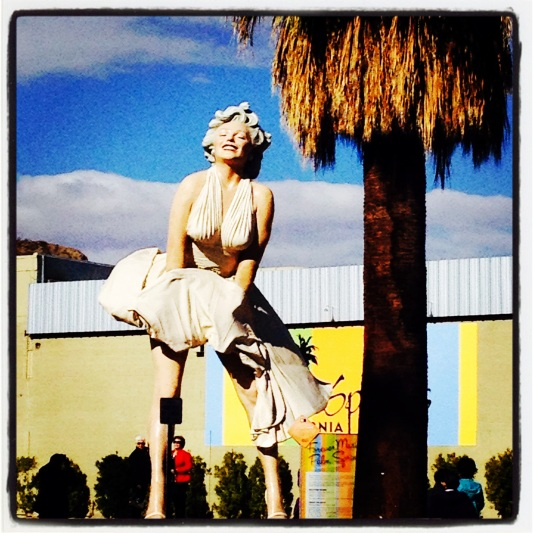 26 foot tall Marilyn