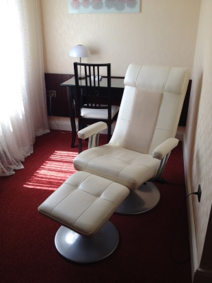Massaging recliner at Hotel Kleiner Reisen