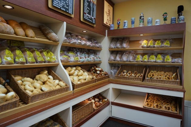 Bakery at Hess - Great Pretzels!