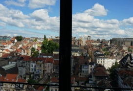 Brussels view from my Airbnb room