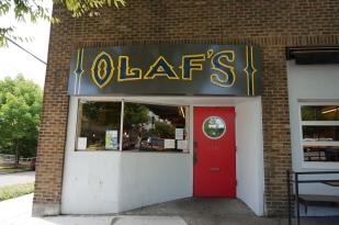 Olaf's local pub