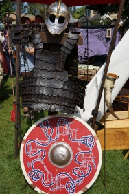Viking battle gear