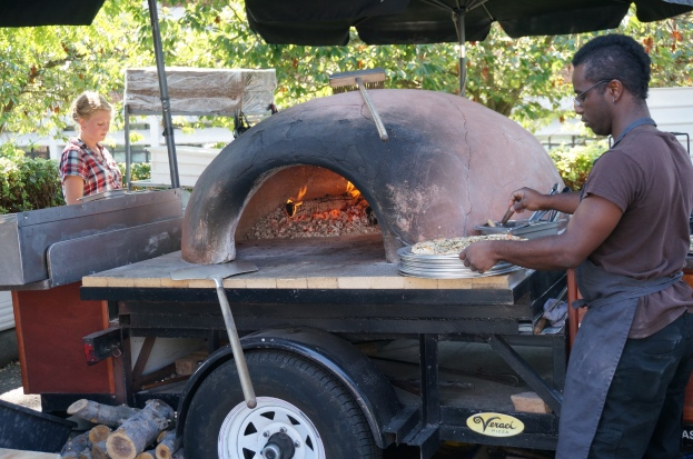 Neopolitan wood-fired pizza from Veraci