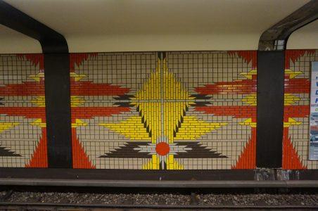 Mosaics at Wilmersdorfer Strasse