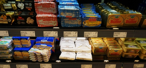 International butter selection in Berlin