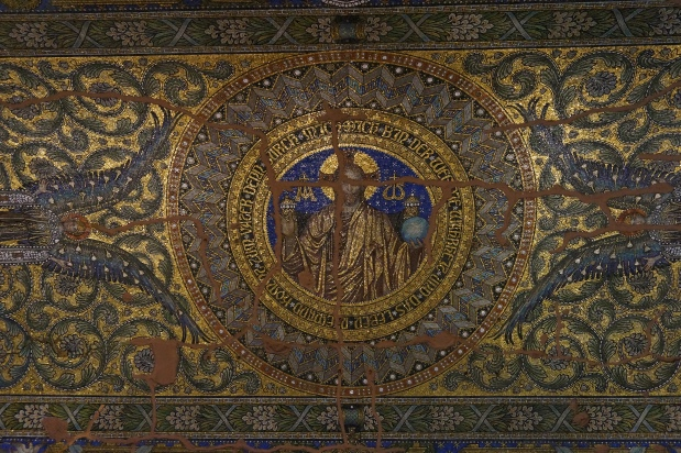 Restored mosaics of Kaiser Wilhelm Church