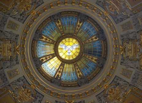 Detail of the central dome