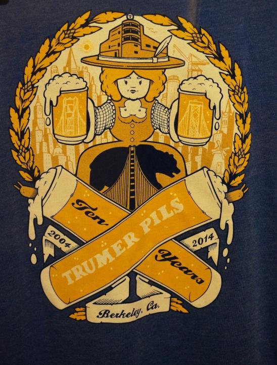 Trumer Pils' 10th anniversary tee