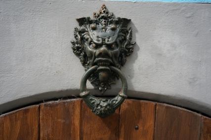 Above a cellar door in Cochem