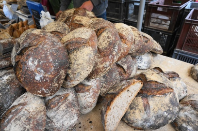 Country bread, sold by the kilo