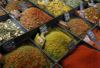 Spices from around the world
