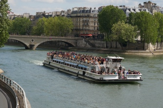 Seine riverboat
