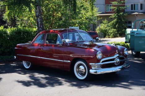 A well-cared-for Studebaker