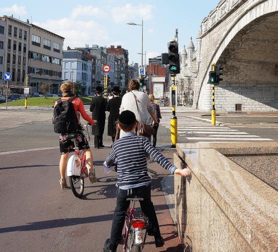 Rush hour, Antwerp-style