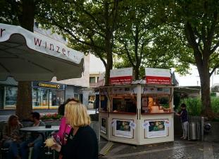 Wine kiosks selling federweisser