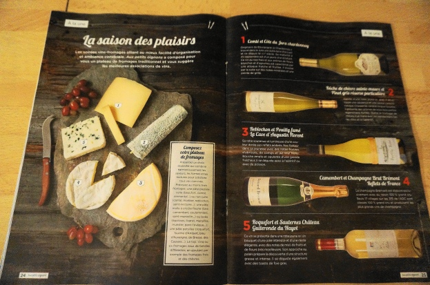Wine and cheese pairing guide from Carrefour
