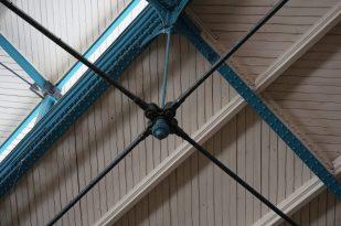 Gorgeous ironwork joinery