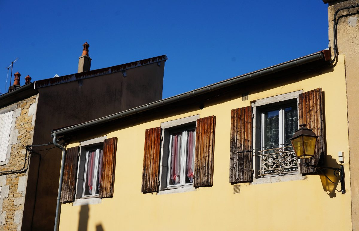 The Charm Of French Window Shutters Food Is Travel