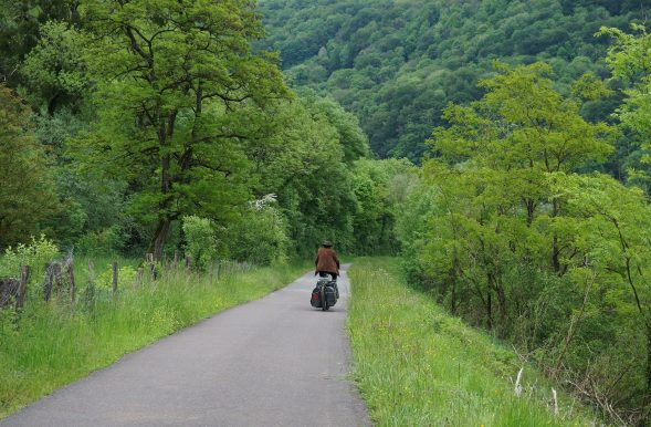 On the Eurovelo 6, near Besancon
