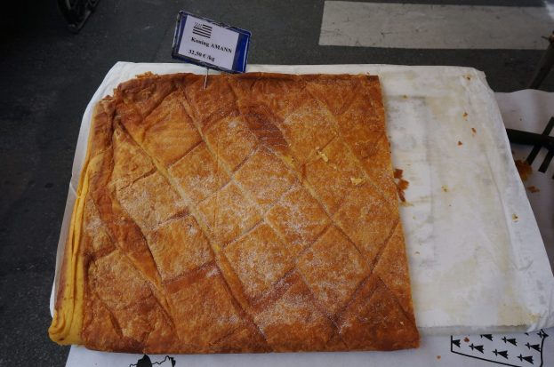 Kouign-amman by the slice at the Binic market