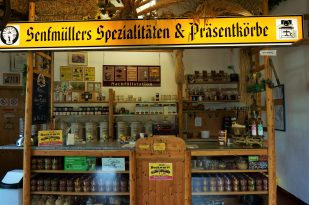 Refill station - bring your mustard jars!