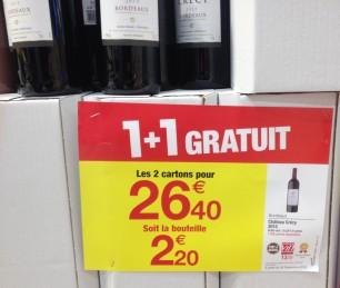 Great deals on Bordeaux!