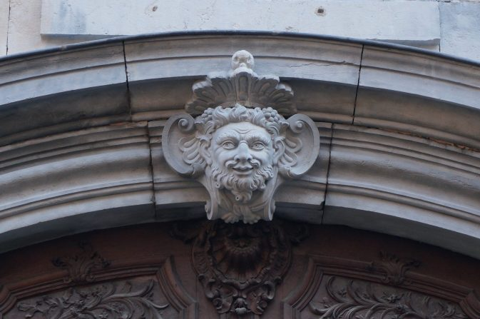 Doorway detail, Besancon