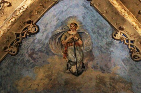 15th century frescoes in Le Grazie