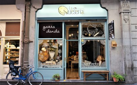 Great cheese shop in Bilbao