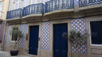 Azulejo in Viana