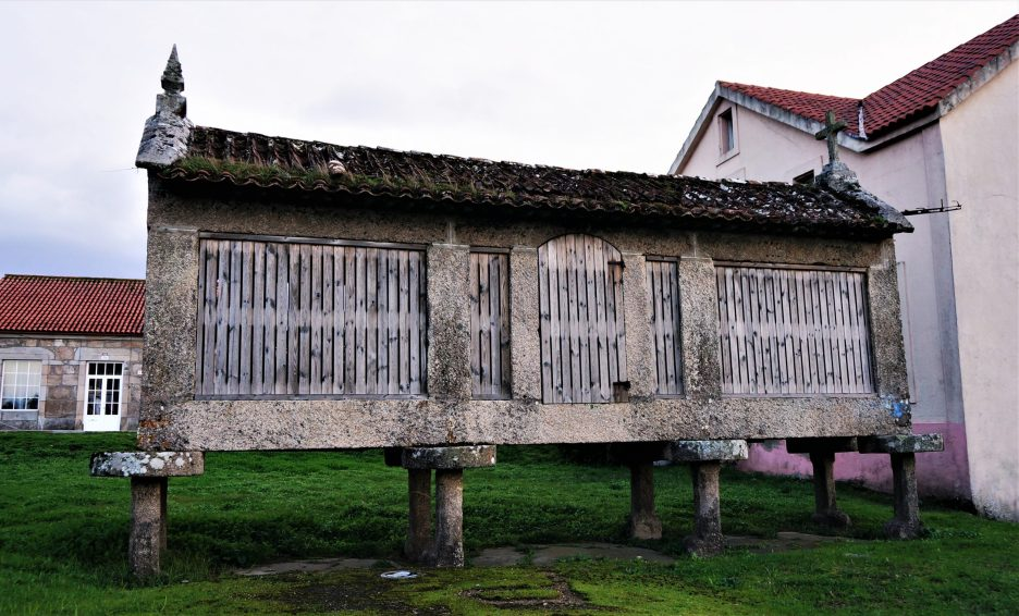 Galician horrero, near the Spanish border