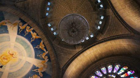 Interior of Sanctuario Santa Luzia,