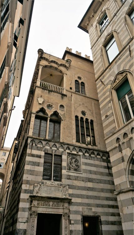 Islamic influences in Genova's old town