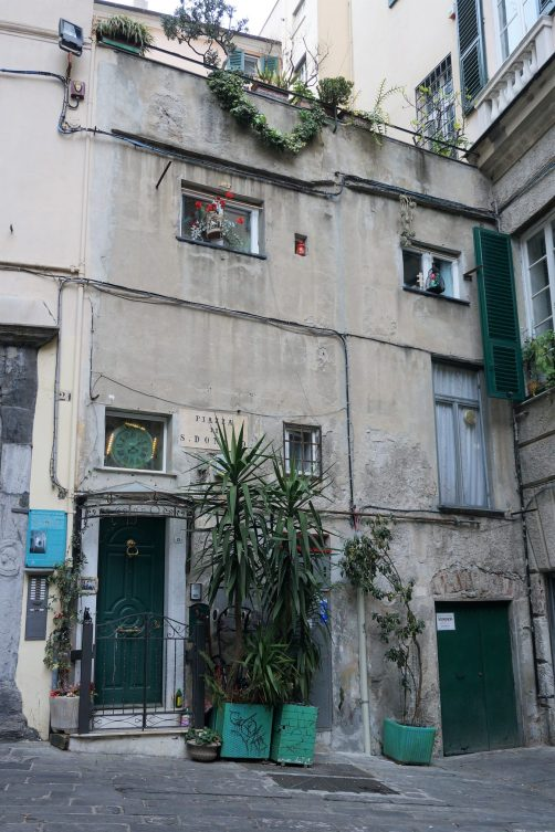 A piazzetta in Genova