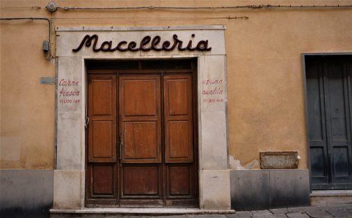Butcher's shop in Savona