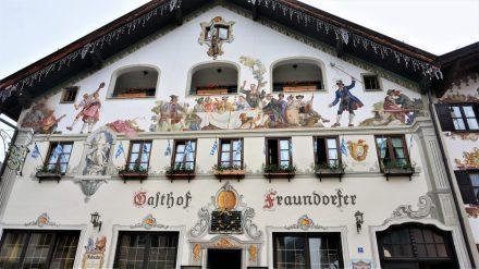 Typical Bavarian village gasthaus