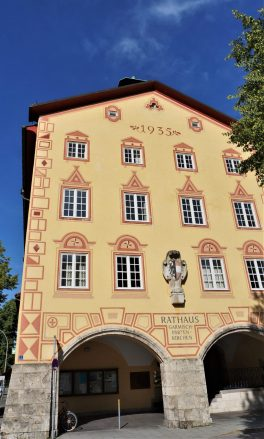 Town Hall in Garmisch-Partenkirchen