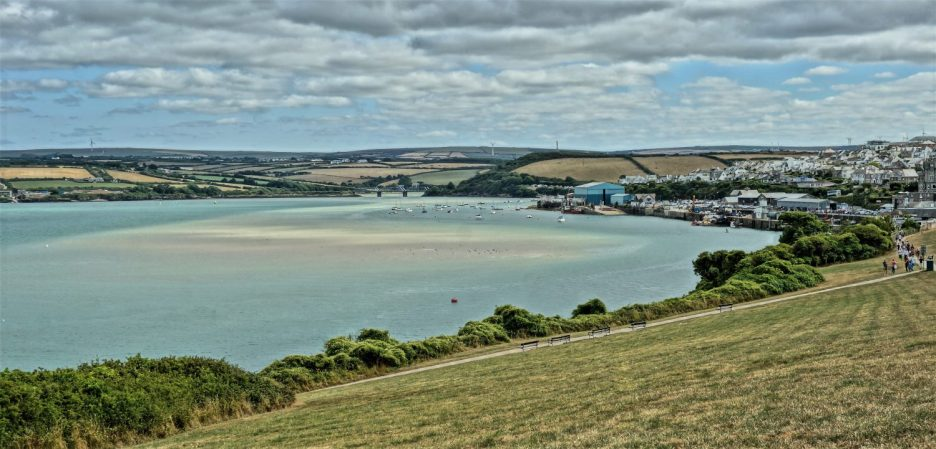 Shifting tides in Padstow