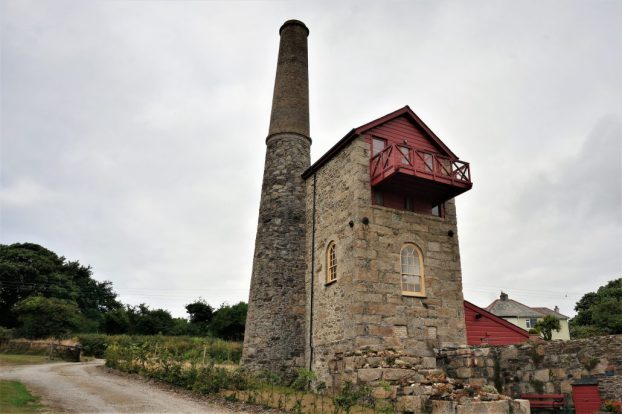 Tin mine converted into a BNB, near Redruth
