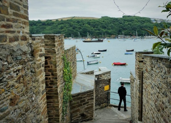 A path to the water in Fowey