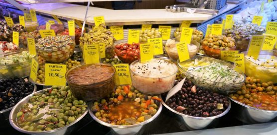 Spanish delights at Mercat Olivar, Palma