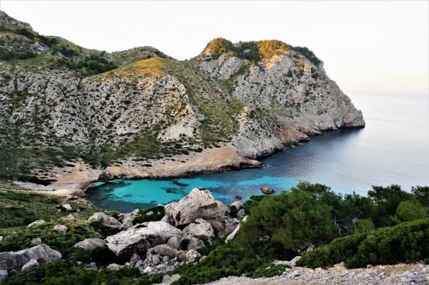 Mallorca's rugged coastline