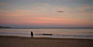 Sunset in Alicante