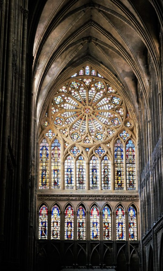 Rose Window of Cathedrale Saint Etienne